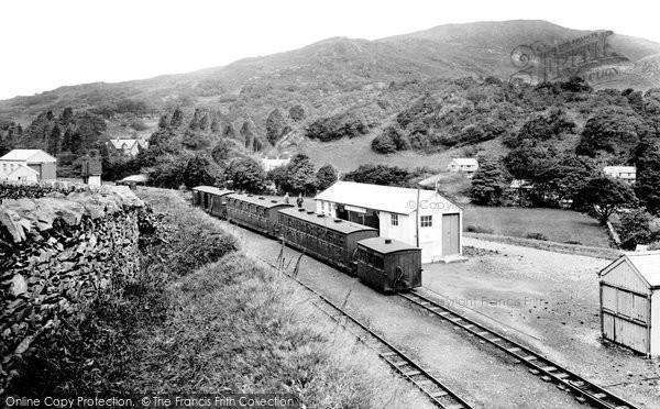Beddgelert, Station, Welsh Highland Railway 1925