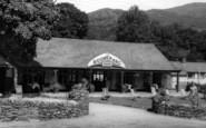 Beddgelert, the Boomerang Cafe c1960