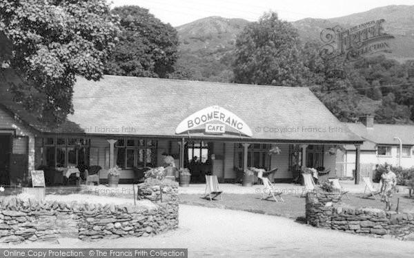 Photo of Beddgelert, the Boomerang Cafe c1960