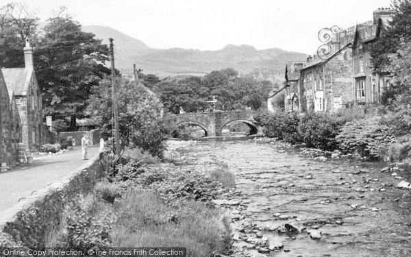 Photo of Beddgelert, The Bridge c.1960