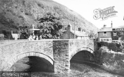Beddgelert, The Bridge c.1960