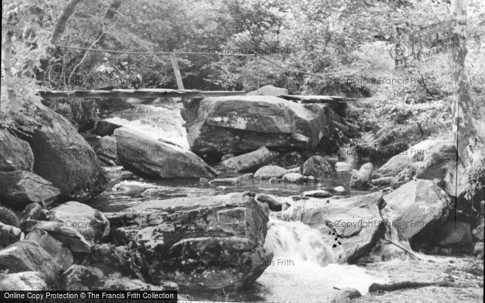 Photo of Beddgelert, The Bridge, Snowdonia National Forest Park c.1960