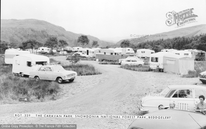 Photo of Beddgelert, The Caravan Park, Snowdonia National Forest Park c.1965