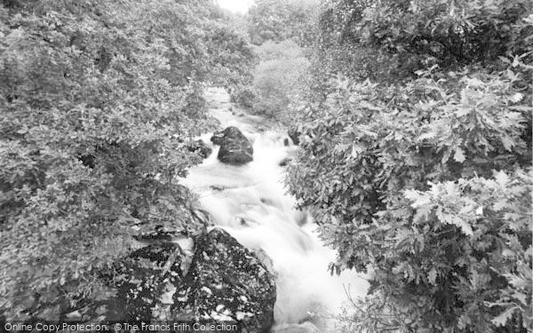 Photo of Beddgelert, The Gorge, Forest Park c.1955