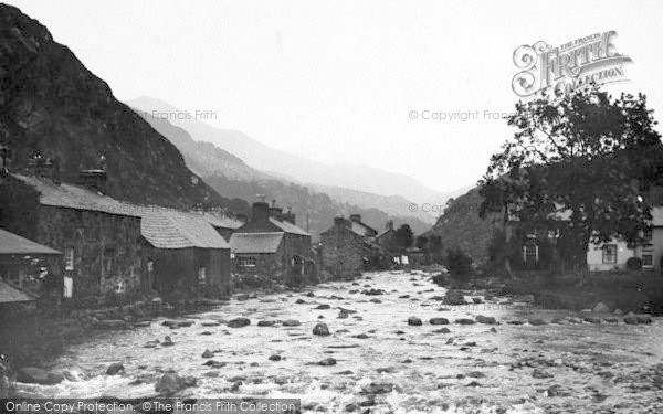 Photo of Beddgelert, The Gwynant River c.1935