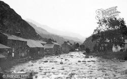 Beddgelert, The Gwynant River c.1935