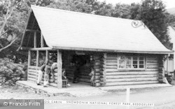 Beddgelert, The Log Cabin, Snowdonia National Forest Park c.1965