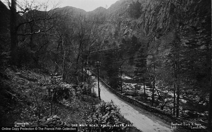 Photo of Beddgelert, The Main Road, Aberglaslyn Pass c.1935