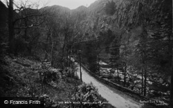 Beddgelert, The Main Road, Aberglaslyn Pass c.1935