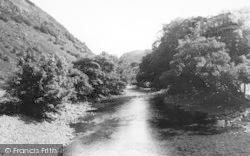 Beddgelert, The River c.1960