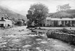 Beddgelert, The River Glaslyn 1913
