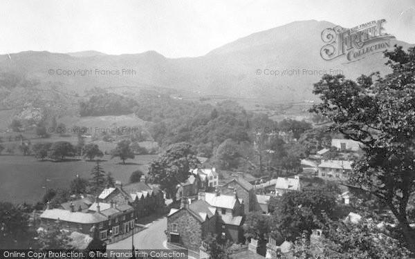Photo of Beddgelert, The Village c.1950