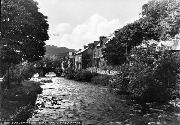 Beddgelert, The Village c.1950
