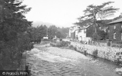 Beddgelert, View From Bridge 1913