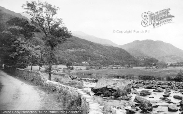Photo of Beddgelert, View From The Mill c.1960