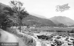 Beddgelert, View From The Mill c.1960