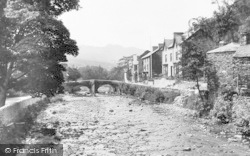 Beddgelert, View In The Village c.1890