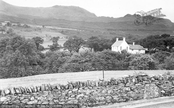 Photo of Beddgelert, View Of Forest Park c.1955