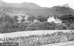 Beddgelert, View Of Forest Park c.1955