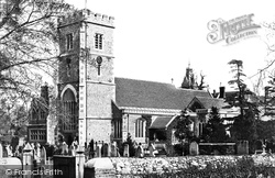 Beddington, Church Of St Mary The Virgin 1890