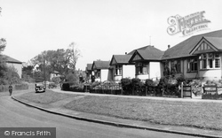 Beddington, Croydon Road 1952