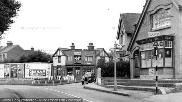 Photo of Beddington, Croydon Road 1952
