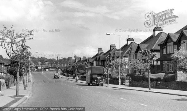 Beddington, Croydon Road 1958