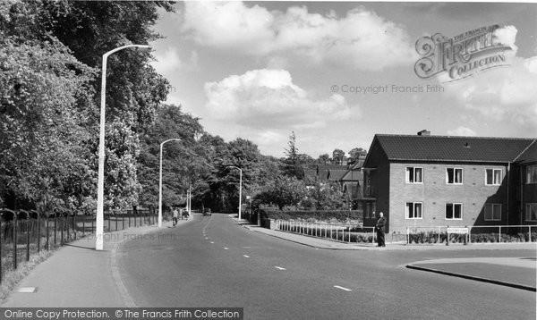 Beddington, Croydon Road c.1958