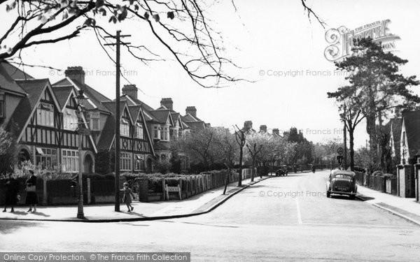 Beddington, Demesne Road 1952