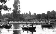 Beddington, Grange Park, the Boating Lake 1950