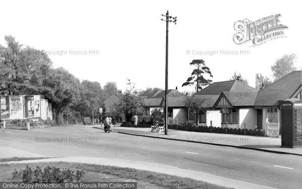 Beddington, Hilliers Lane 1952