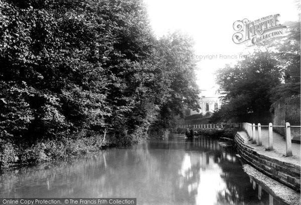 Photo of Beddington, on the Wandle 1894