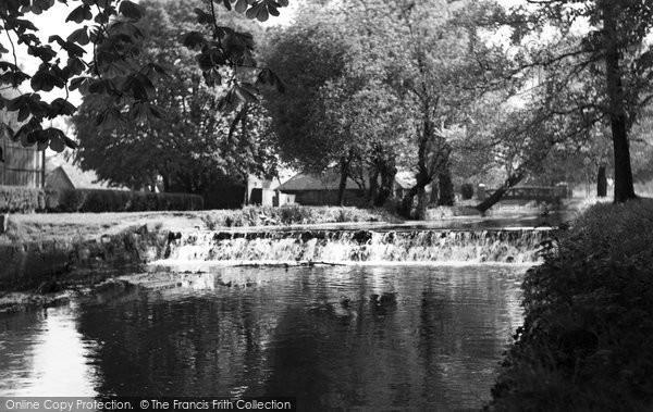 Beddington, River Wandle, Grange Park 1952