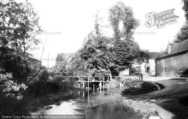 Photo of Beddington, Snuff Mills 1890