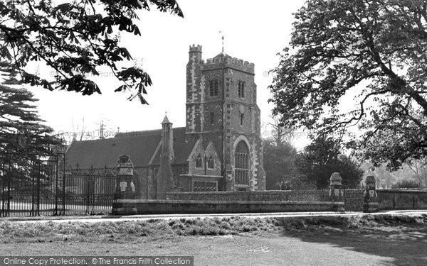 Photo of Beddington, St Mary's Church 1952