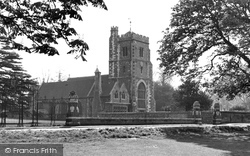 Beddington, St Mary's Church 1952