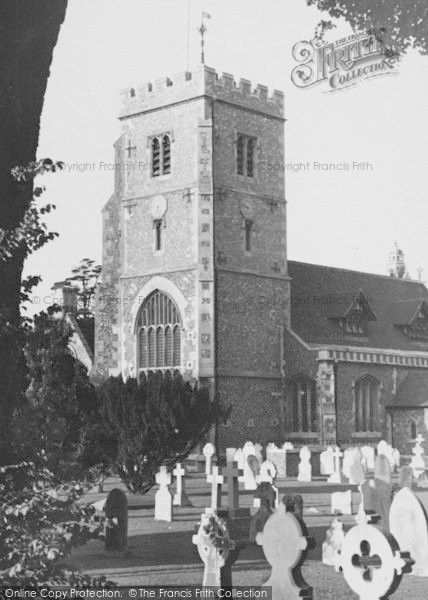 Photo of Beddington, St Mary's Church 1953