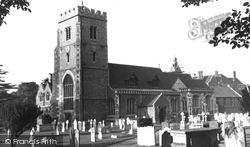 Beddington, St Mary's Church 1953