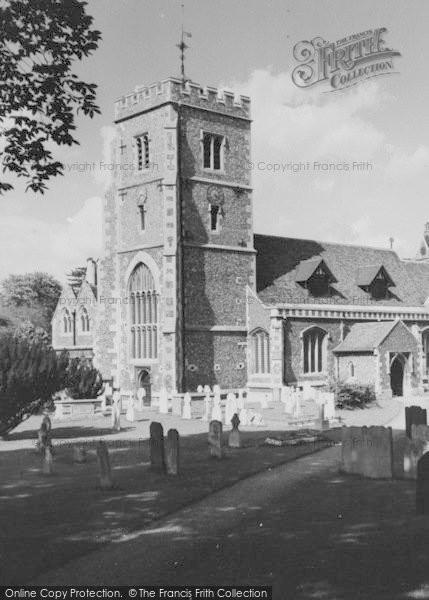 Photo of Beddington, St Mary's Church 1958