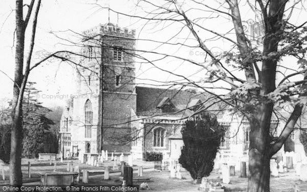 Photo of Beddington, St Mary's Church c.1960