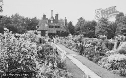 Beddington, The Flowered Walk, The Grange 1950