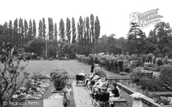 Beddington, The Grange, Gardens And Flowered Walk 1950