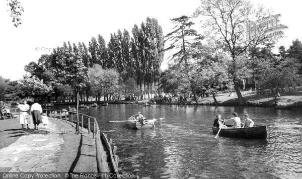 Beddington, The Grange Park c.1958