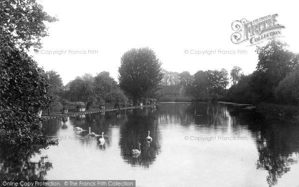 Beddington, View From The Bridge 1894