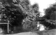 Beddington, View On The Wandle 1890