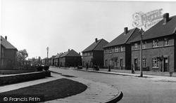 Bedfont, Elm Road, Council Estate c.1951