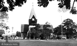 Bedfont, St Mary's Church c.1951