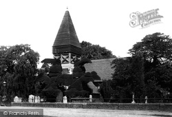 Bedfont, St Mary's Church From The South East 1895