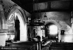 Bedfont, St Mary's Church, In The Nave 1895