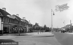 Bedfont, Staines Road 1951
